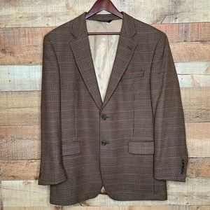 Jos. A. Bank | 100% Wool Houndstooth Blazer 42R